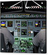Flight Simulator Acrylic Print