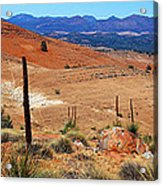 Flinders Ranges Hucks Lookout Acrylic Print