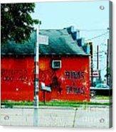 Flippa City  Acrylic Print