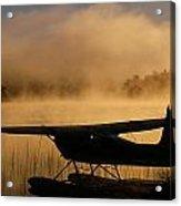 Float Plane, Long Lake, Sudbury, Ontario Acrylic Print