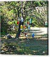 Float Tree Acrylic Print