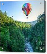 Floating Over Quechee Gorge Acrylic Print