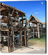 Floating Restaurants. Acrylic Print