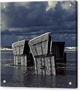 Flood Acrylic Print by Joana Kruse