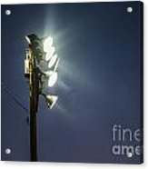 Floodlights Acrylic Print