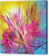 Flora Splendor Beneath The Sun Acrylic Print