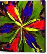 Floral Abstraction 090312 Acrylic Print
