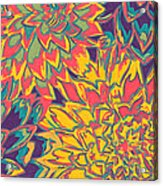Floral Abstraction 22 Acrylic Print