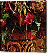 Floral Antique Acrylic Print