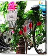Floral Delivery Acrylic Print