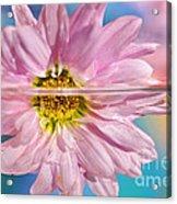 Floral 'n' Water Art 5 Acrylic Print