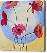 Floral Orb Acrylic Print