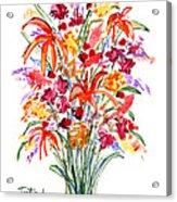 Floral Six Acrylic Print