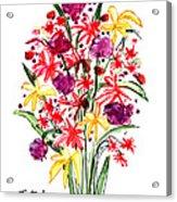 Floral Three Acrylic Print