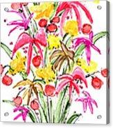 Floral Twelve Acrylic Print
