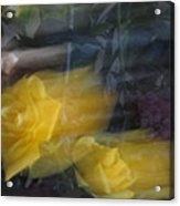 Florals In Motion 7 Acrylic Print