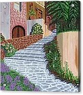 Florence Italy Apartments Acrylic Print