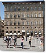 Florence Piazza Della Signoria Acrylic Print