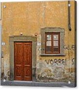Florence Streetscape Acrylic Print
