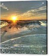 Florida Point Point Acrylic Print