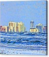 Florida Turbulence Acrylic Print by Deborah Benoit