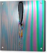 Flow Testing Air Foil Acrylic Print