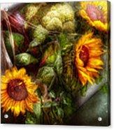 Flower - Sunflower - Gardeners Toolbox  Acrylic Print