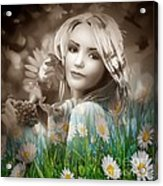 Flower Arround Me Acrylic Print