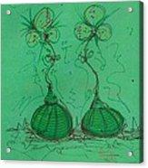 Flower Bells Acrylic Print