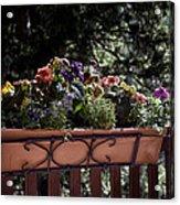 Flower Box Acrylic Print