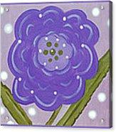 Flower Children Acrylic Print
