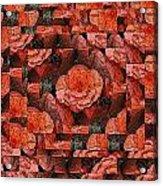 Flower Garden Delightful Acrylic Print