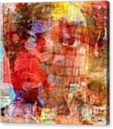 Flower Girll Acrylic Print