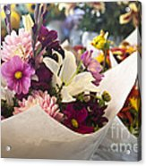 Flower Market Acrylic Print