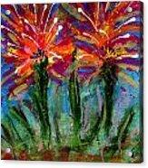 Flower Towers Acrylic Print