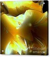 Flowering Fractal Acrylic Print