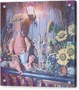 Flowerpotman Acrylic Print