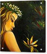 Flowers Of Paradise Acrylic Print