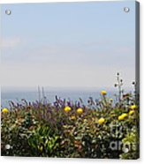 Flowerview Acrylic Print