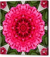 Flowery Creation Acrylic Print