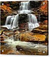 Flowing Down The Mountain Acrylic Print