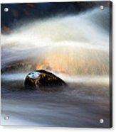Flowing River II Acrylic Print