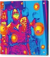 Flu Pandemic, Artwork Acrylic Print