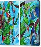 Fluttering Acrylic Print by Christine Bonnie Ghattas