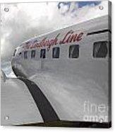 Fly To Paradise Acrylic Print