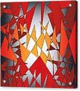 Flying Carpet Two Cor Crucibulum Acrylic Print