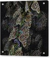 Flying Diamonds At Rest Acrylic Print