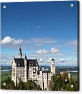 Flying High Over Neuschwanstein Acrylic Print