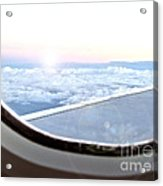 Flying Home Acrylic Print by Joanne Kocwin