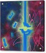 Flying Lotus Acrylic Print